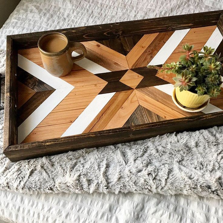Excited to share the latest addition to my #etsy shop: Wood Tray - Geometric Wood Tray - Wood Serving Tray - Wood Wall Art - Wood Art - Boho Wood Tray - Boho Wood Wall Art - Wooden Tray