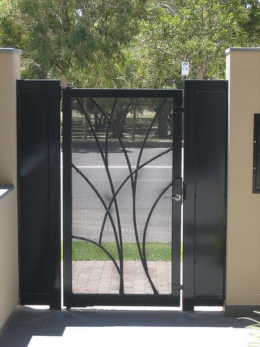 Double entry for our front door : doors gates - Pezcame.Com