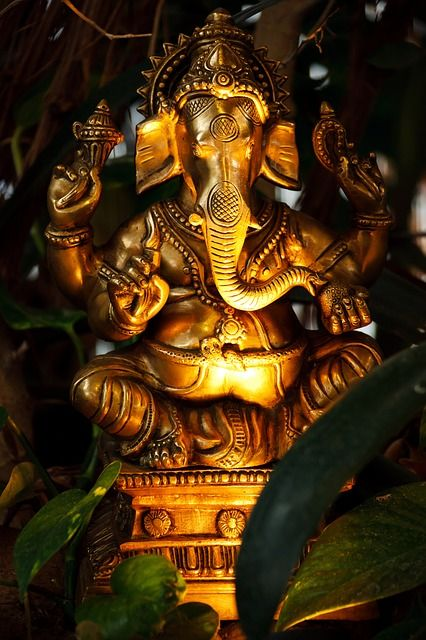 Lord Ganesh. He is the remover of obstacles and the protector of new beginnings.