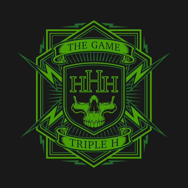 Check Out This Awesome Triple H Design On Teepublic