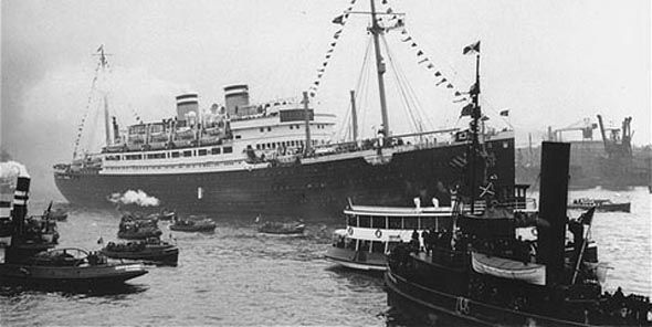 This ship, was known as the S.S St.Louis, which was a ship full of Jewish refugees who came to seek protection in Canada. Canada, however, denied their entrance. Mnay people were killed due to Canada's actions and this has changed people till this day. Canada is now a very racial discrimination free country, and is helping refugees from recently struggling nations. This is a credible source from a legitimate site (holocaustonline.org).