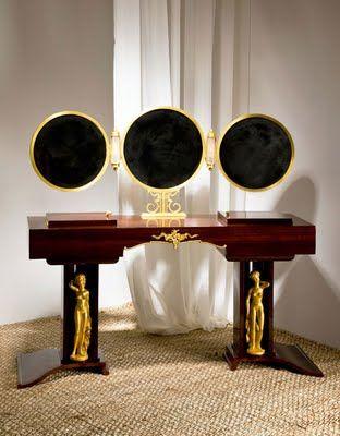 Art Deco Vanity by Jules Leleu. yes please!