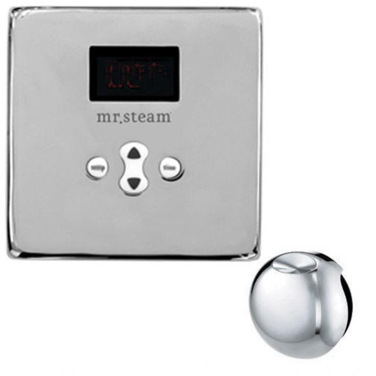 Mr. Steam eTempo Square Temperature Control - MS ETEMPO SQ