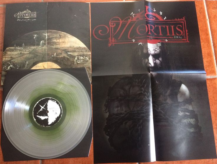 Mortiis The Great Corrupter. Fog of the Ogre LP, with exclusivep poster. 99 copies made.