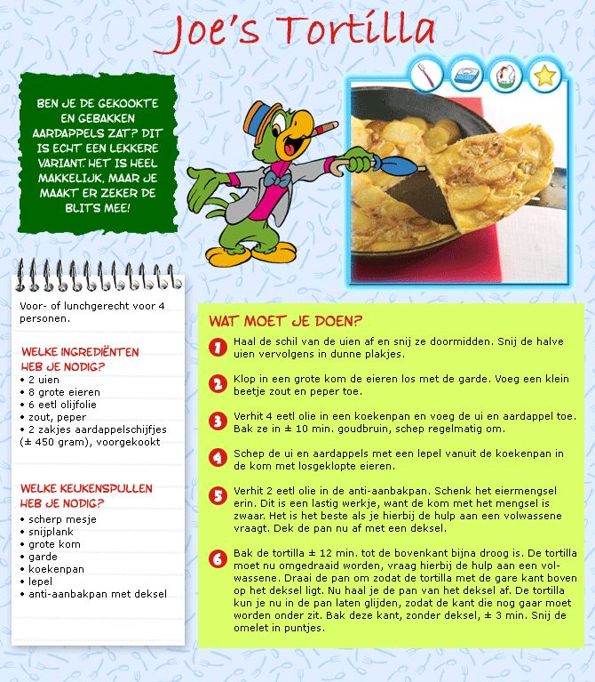 Recepten uit Duckstad   Donald Duck