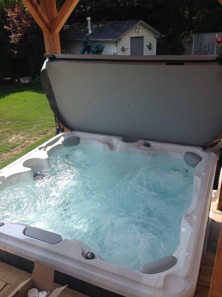 1000 images about sundance spas hot tub installations on. Black Bedroom Furniture Sets. Home Design Ideas