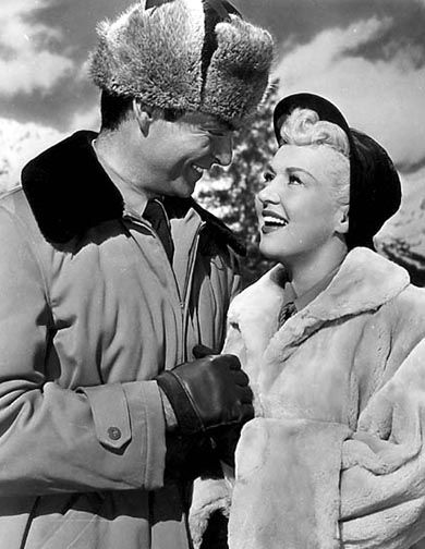 Rory Calhoun & Betty Grable in How to Marry a Millionaire (1953)