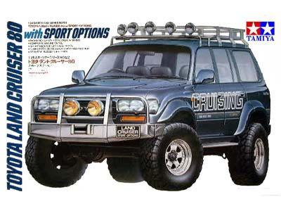 Tamiya 24122 Toyota Land Cruiser 80 w/Sport Option