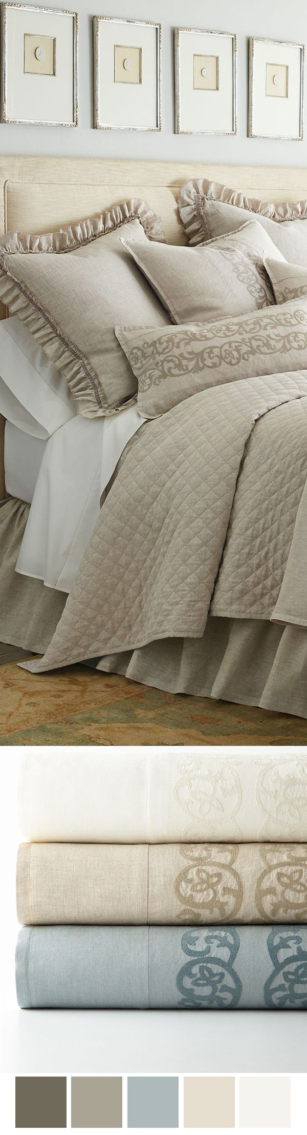 Luxury Bedding ~ Allegra
