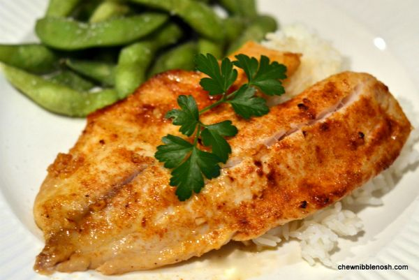 Quick and Easy Citrus Garlic Tilapia - Hubby gave this an 11 out of 10 :-)  ~Trish