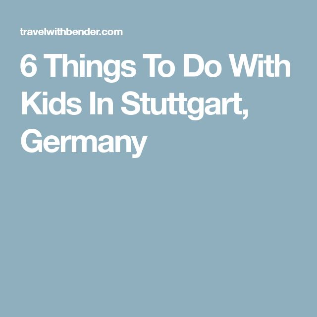 Things To Do With Kids On