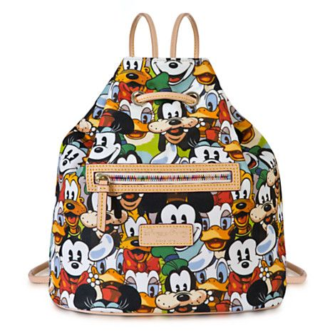 Mickey Mouse and Friends Faces Backpack by Dooney & Bourke
