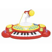 """Bruin - Electronic Keyboard with Mic - Bruin - Toys""""R""""Us"""