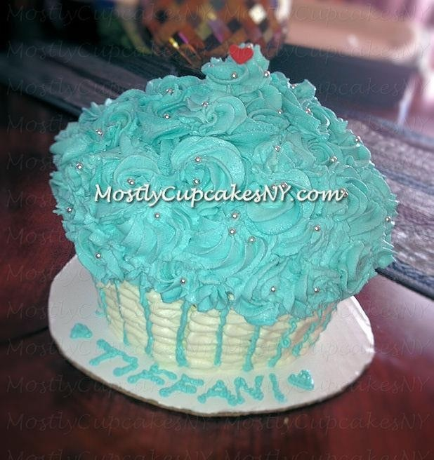 Cupcake Themed Birthday Cake