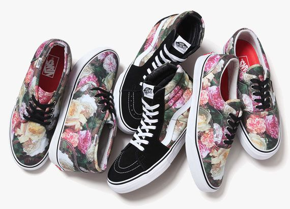 Supreme x Vans Power, Corruption, & Lies Collection
