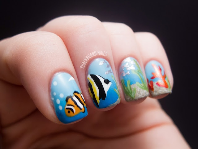 12 best Sea themed nails images on Pinterest | Finger nails, Cute ...
