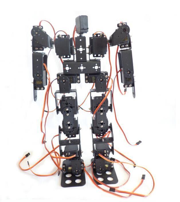 F17326 17DOF Biped Robotic Educational Robot Humanoid Robot Kit Servo Bracket