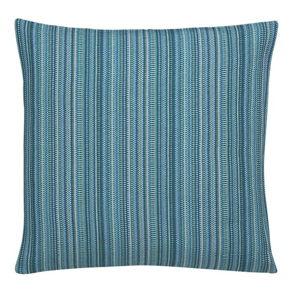 Crate and Barrel: Maddox Teal Pillow. Same color scheme as Soiree Silk Pillow in Twilight Blue ...
