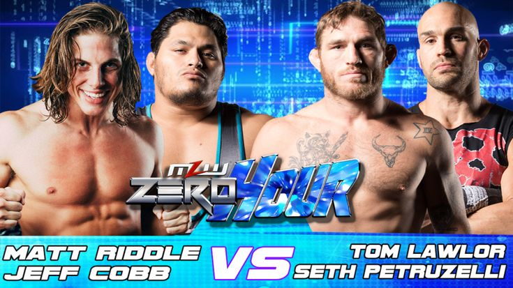 Matt Riddle & Jeff Cobb vs. Tom Lawlor & Seth Petruzelli set for MLW: Zero Hour on 1/11 in Orlando