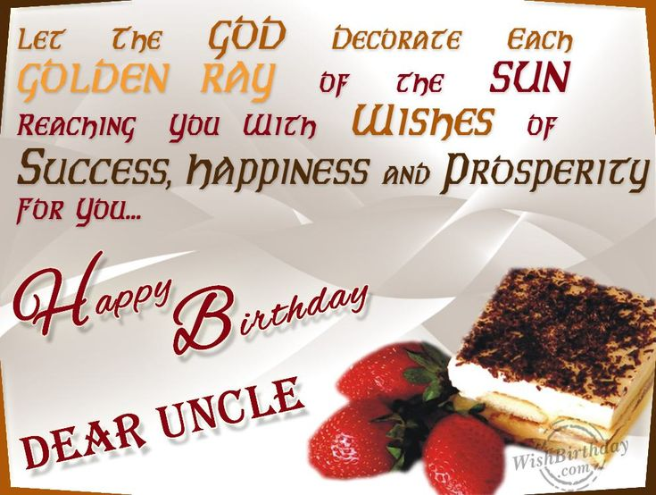 Best 25 Birthday wishes for uncle ideas – Birthday Cards Uncle