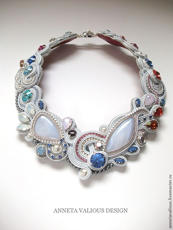 Beautiful soutache by Anneta Valious