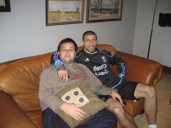 Cercando divano come Walter Samuel @ Inter Milan? Divani in pelle Giacobbe Salotti: www.giacobbesalotti.it