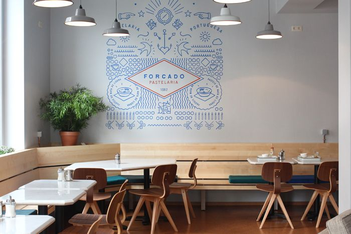 Forcado - lovely Portuguese pastry & coffee place in Ixelles