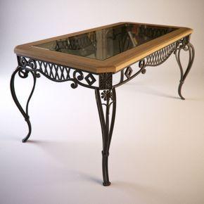 Decorative iron table base - nice design                                                                                                                                                                                 More