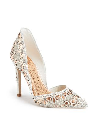 Women's Haleiwa white leather stilettos  Sale - Ted Baker Sale