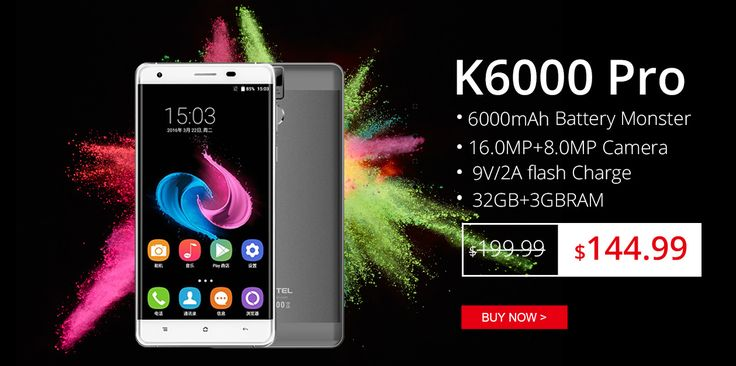 OUKITEL K6000 Pro flash sale only at $144.99