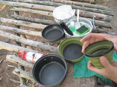 A Solo Backpacker's Kitchen / Mess Kit - YouTube