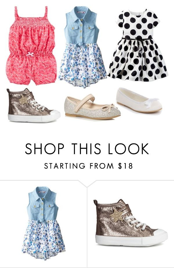 """Kids clothes"" by awesome129 ❤ liked on Polyvore featuring Carter's and H&M"