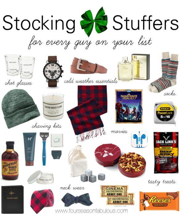 Stocking Stuffers for Him | four season fabulous | Pinterest ...