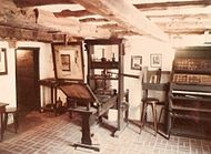 The printing press is one of the greatest inventions of all time & J. Gutenburg the most important man of the past 1000 years and possibly the 3rd most important man in history. This is a repro of his press w/ movable type. It was a modified agricultural press. The 1st thing ever printed was a German poem in 1438. He made the Gutenburg Bible, only 15 still exist. He could make about 300 bibles a month. Previously it took a year to make just 1. By 1800 a billion books had been printed in…