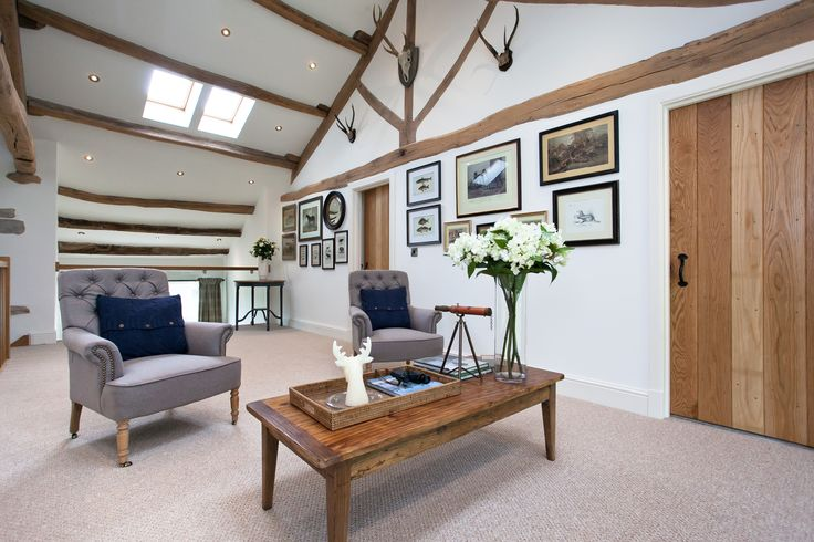 Modern Country Style: House Tour: Barn Conversion Heaven Click through for details.