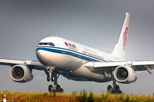 Air China - Airbus A330-200 - B-6536   CDG/LFPG