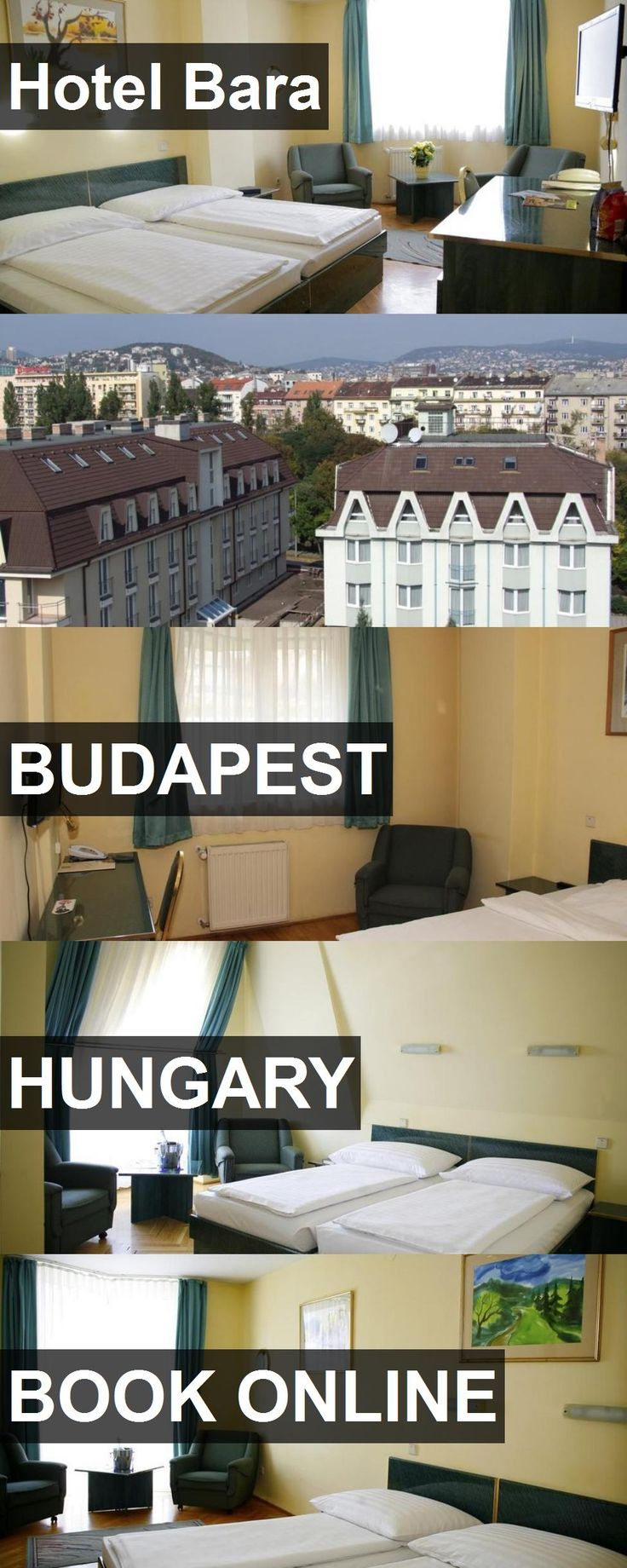 Hotel Bara in Budapest, Hungary. For more information, photos, reviews and best prices please follow the link. #Hungary #Budapest #travel #vacation #hotel