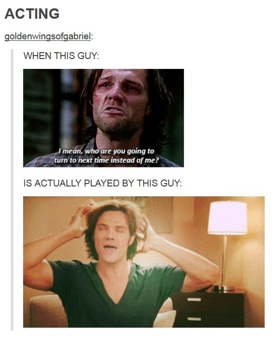 Jared is such a goof ball tip pay such a tragic character. It helps ease the feels.