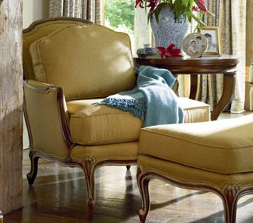 French Country Decorating | French Country Decor Tip #31: Dress Down A  French Chair