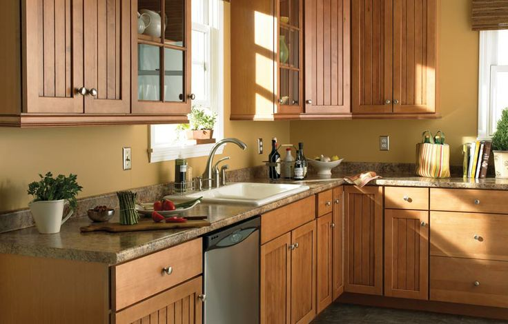 38 best images about kitchen countertops on pinterest for Butternut kitchen cabinets