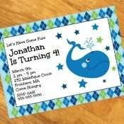 Ocean Party Personalized Invitations