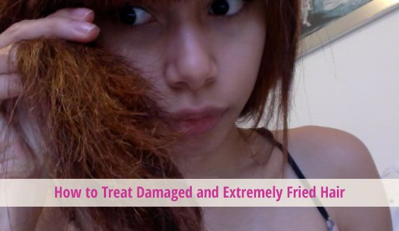 How to Treat Damaged and Extremely Fried Hair. #hair #hairtreatments #haircare @Hair Treatments Talk