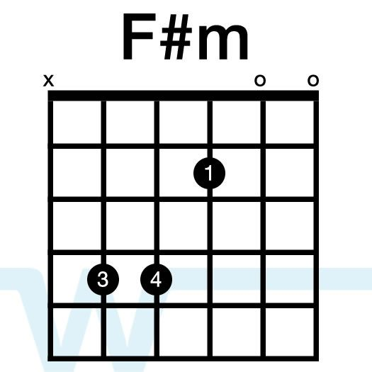 Image result for f#m guitar chord | Playing the Guitar | Pinterest ...