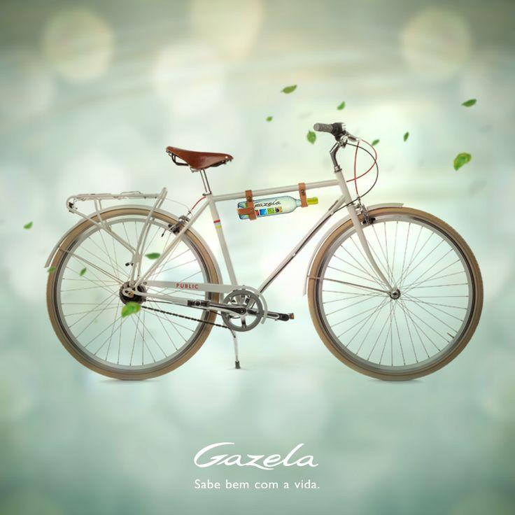 Recomendamos apreciar Gazela com moderação e talvez até voltar com a bicicleta à mão  