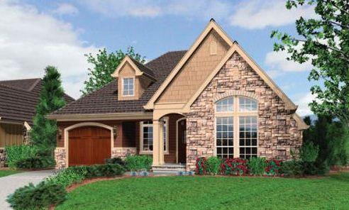 Fachada de casa estilo americano interiores pinterest - Casas estilo americano ...