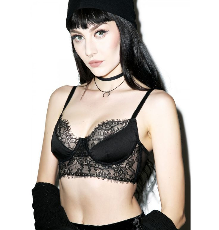 Widow Demeter Lace Bustier