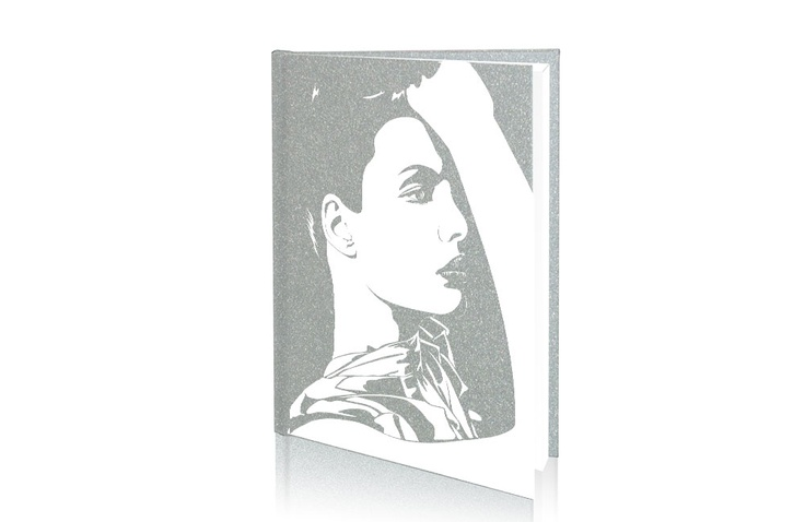 A4-Portrett-Aluminium-X-Book-portrait  trykket med cpm transferpapir http://www.themagictouch.no