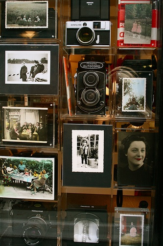 parisian photo shop: a vintage delight of photos and cameras