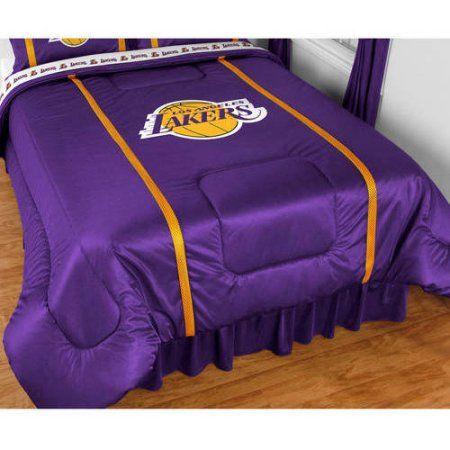 Sports Coverage Sidelines Comforter, Purple