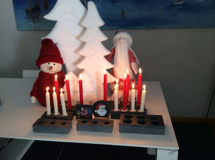 # porta velas #soportes especiales para velas #decoración #navidad #regalos adorne su mesa de navidas